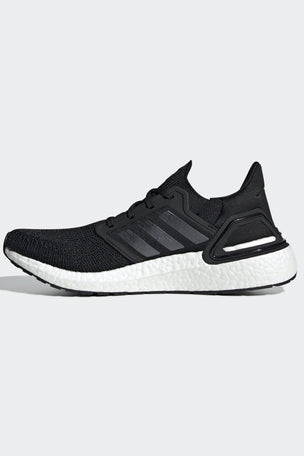 ADIDAS Ultraboost 20 Shoes - Core Black/Cloud White | Men's image 6 - The Sports Edit