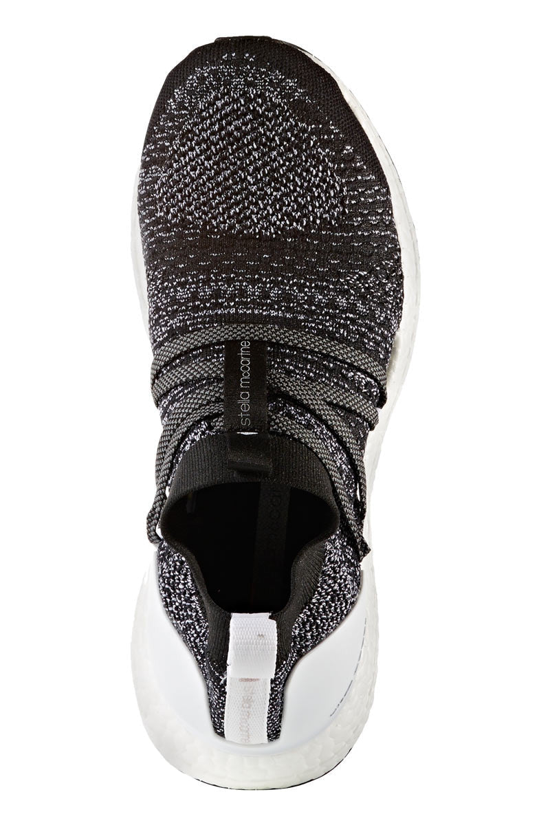 adidas X Stella McCartney Ultra Boost X Black/White - Women's image 4 - The Sports Edit