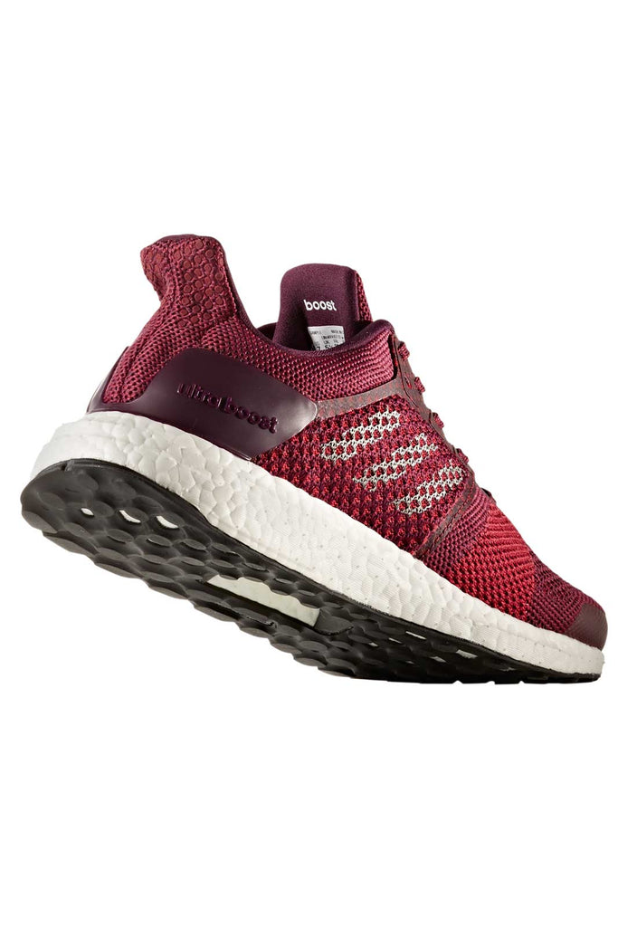 66cad2d65bf8a ADIDAS Ultra Boost ST Stability Trainers - Ruby image 2 - The Sports Edit