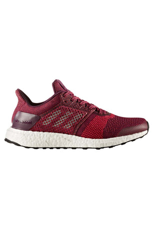 32dd54ceae3 ADIDAS Ultra Boost ST Stability Trainers - Ruby image 1 - The Sports Edit