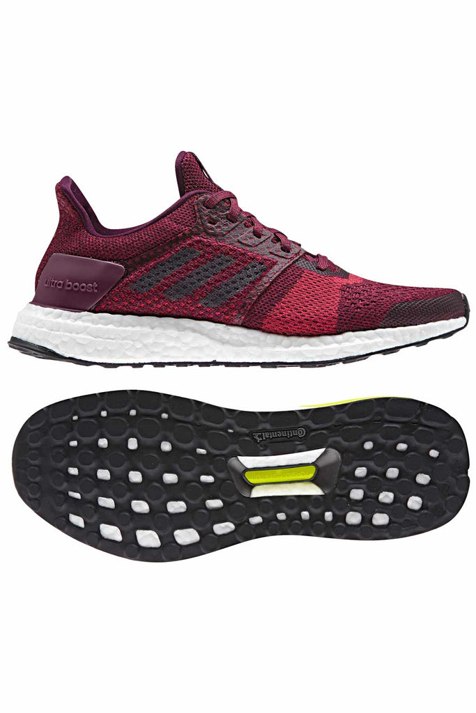 c154c2cfe11 ADIDAS Ultra Boost ST Stability Trainers - Ruby image 5 - The Sports Edit