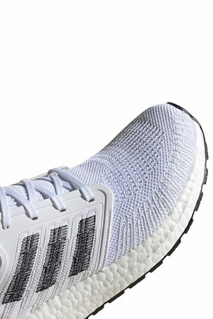 Adidas Ultraboost 20  - Cloud White/Core Black/Signal Coral image 7 - The Sports Edit