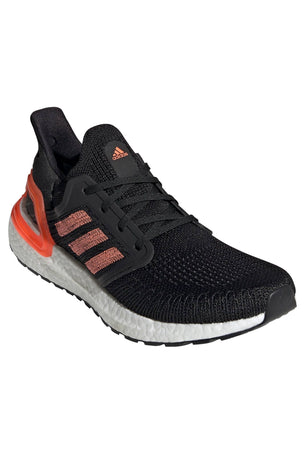 Adidas Ultraboost 20  - Core Black/Signal Coral/White image 7 - The Sports Edit