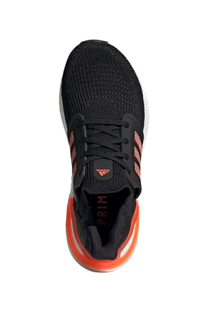 Adidas Ultraboost 20  - Core Black/Signal Coral/White image 9 - The Sports Edit