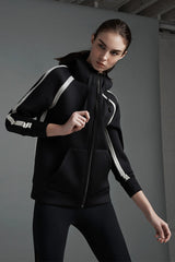 Alala Bond Jacket Black/Silver image 2 - The Sports Edit