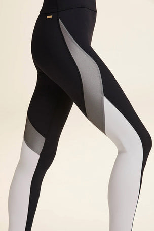 Alala Edge Ankle Tight - Grey/Black image 4 - The Sports Edit