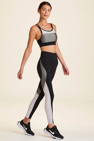 Alala Edge Ankle Tight - Grey/Black image 6 - The Sports Edit
