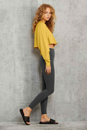 Alo Yoga Double Take Pullover - Sulphur image 5 - The Sports Edit