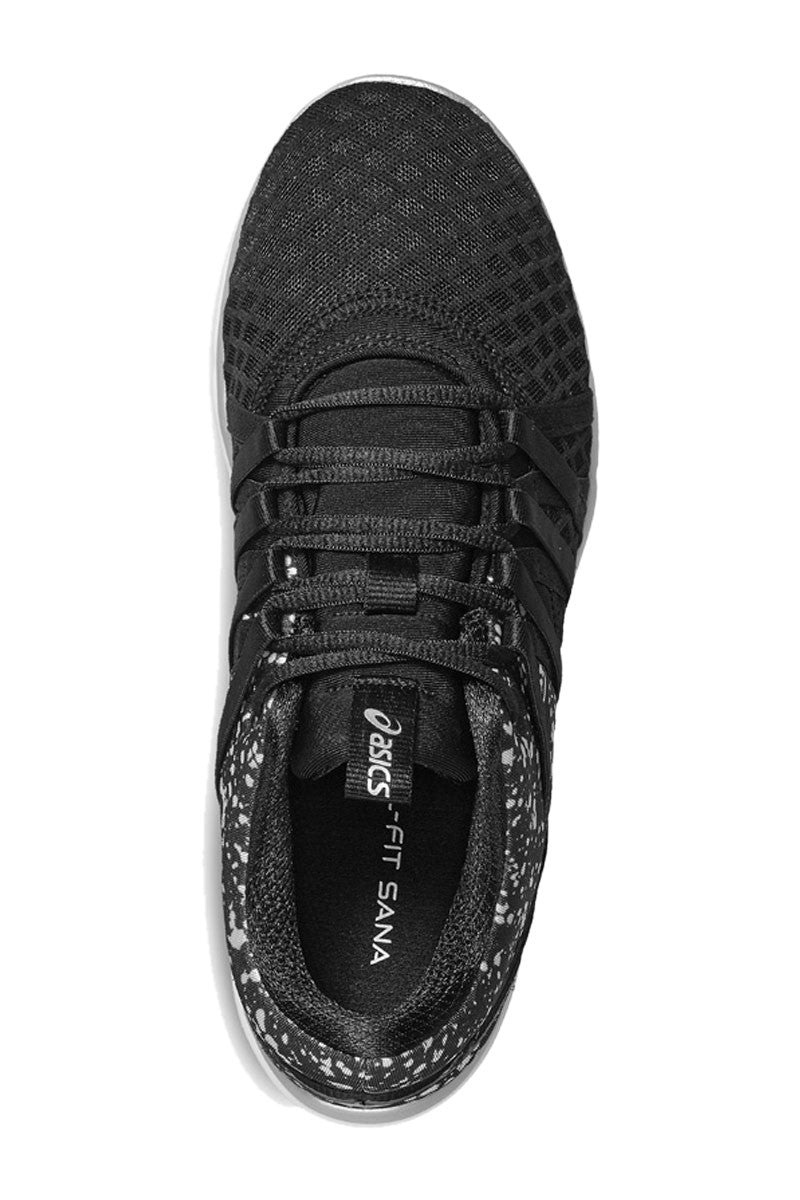 ASICS Gel-Fit Yui Blk/Silver image 4 - The Sports Edit