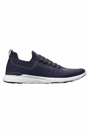 147332f0e032 APL TechLoom Breeze - Navy Metallic Gold image 1 - The Sports Edit