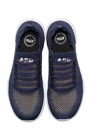 APL TechLoom Breeze  - Navy/Metallic Gold image 3 - The Sports Edit
