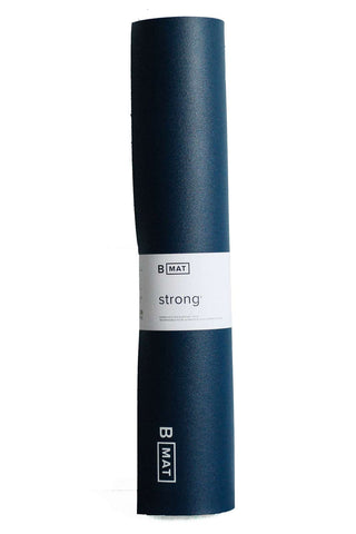 B Yoga B MAT 6mm Strong Deep Blue image 1 - The Sports Edit