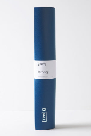 B Yoga B MAT 6mm Strong Deep Blue image 3 - The Sports Edit