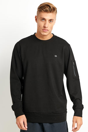 Calvin Klein Performance Calvin Klein Sweatshirt -Black image 1 - The Sports Edit