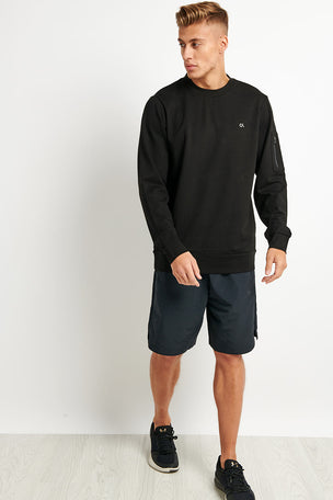 Calvin Klein Performance Calvin Klein Sweatshirt -Black image 4 - The Sports Edit