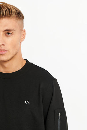 Calvin Klein Performance Calvin Klein Sweatshirt -Black image 3 - The Sports Edit
