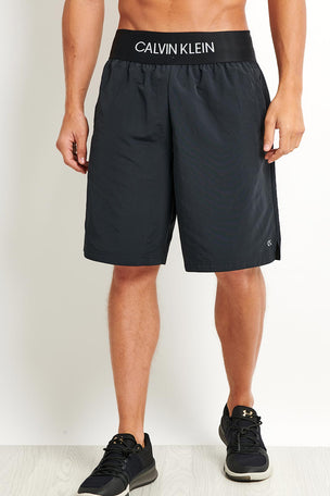 Calvin Klein Performance Calvin Klein Woven Shorts - Black image 3 - The Sports Edit