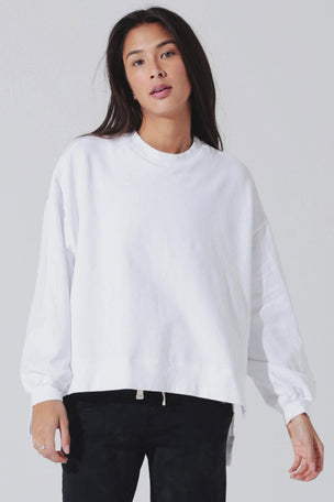 Electric & Rose Neil Sweatshirt - Cloud image 1 - The Sports Edit