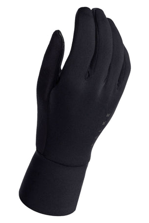 Falke Brushed Running Gloves - Black image 2 - The Sports Edit