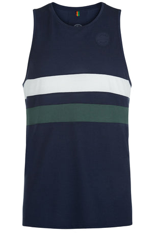 Iffley Road Lancaster Night Sky Stripe Running Vest image 5 - The Sports Edit