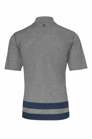 Iffley Road Sidmouth Striped Running T-Shirt image 5 - The Sports Edit