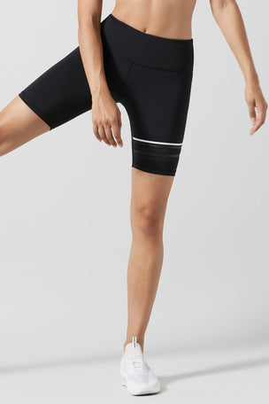 Lilybod Lewis Biker Shorts - Black image 2 - The Sports Edit