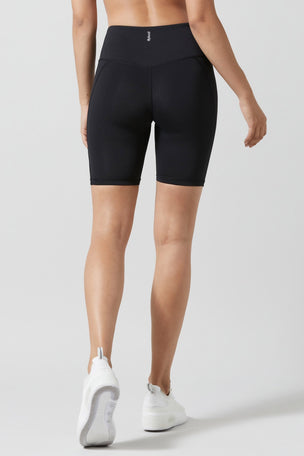 Lilybod Lewis Biker Shorts - Black image 3 - The Sports Edit