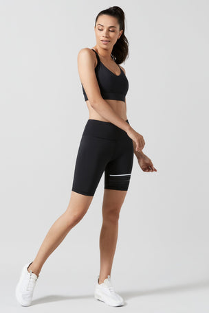 Lilybod Lewis Biker Shorts - Black image 5 - The Sports Edit