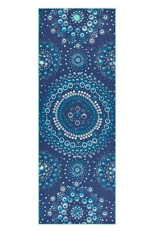 Manduka Yogitoes Yoga Towel - Bubbles image 1 - The Sports Edit