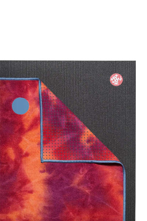 Manduka Yogitoes Towel - Groovy La Rampa image 4 - The Sports Edit
