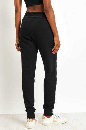 Champion Rib Cuff Pants Black image 2 - The Sports Edit