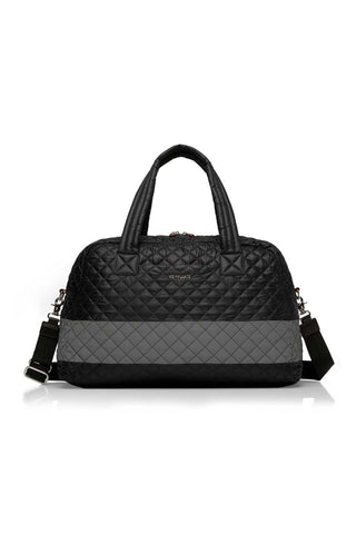 MZ Wallace Jimmy Tote Bag | Black/Reflective image 1 - The Sports Edit