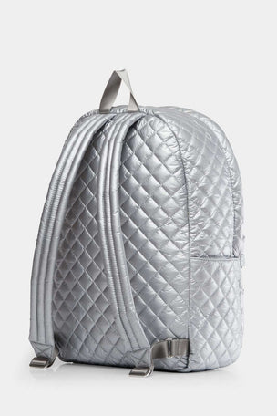MZ Wallace Metro Backpack - Tin Metallic image 2 - The Sports Edit
