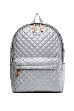 MZ Wallace Metro Backpack - Tin Metallic image 1 - The Sports Edit