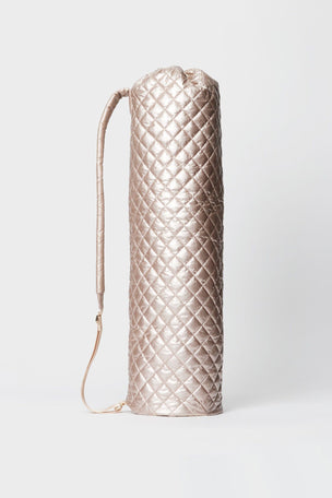 MZ Wallace Mat Bag - Rose Gold Metallic Oxford image 2 - The Sports Edit
