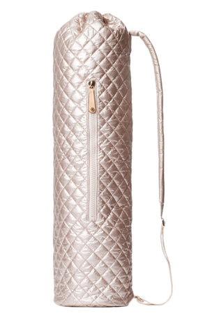 MZ Wallace Mat Bag - Rose Gold Metallic Oxford image 1 - The Sports Edit