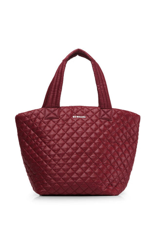 MZ Wallace MZ Wallace Medium Metro Tote Maroon image 1 - The Sports Edit