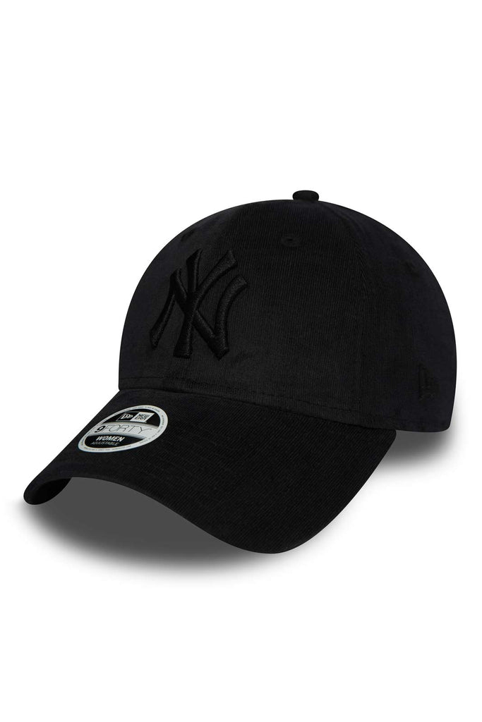 ada0e98e7860ce New Era New York Yankees Micro Cord 9FORTY - Black image 1 - The Sports Edit
