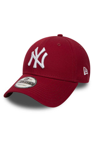 New Era New York Yankees 9FORTY Cap - Red image 1 - The Sports Edit
