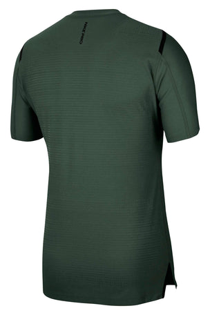 Nike Pro Short-Sleeve Top - Galactic Jade/Heather/Black image 5 - The Sports Edit