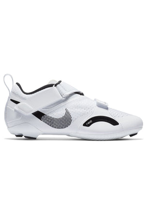Nike SuperRep Cycle Shoes - White/Black | Women's image 1 - The Sports Edit