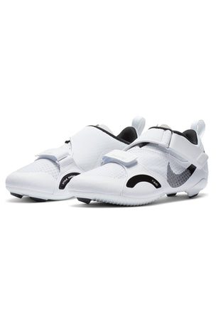 Nike SuperRep Cycle Shoes - White/Black | Women's image 4 - The Sports Edit