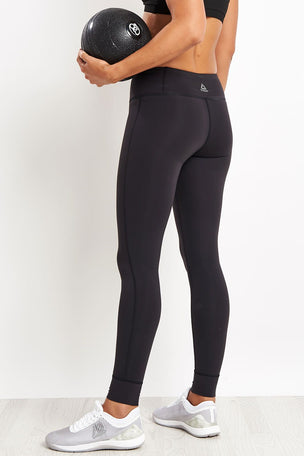 Reebok Lux Leggings - Black image 2 - The Sports Edit