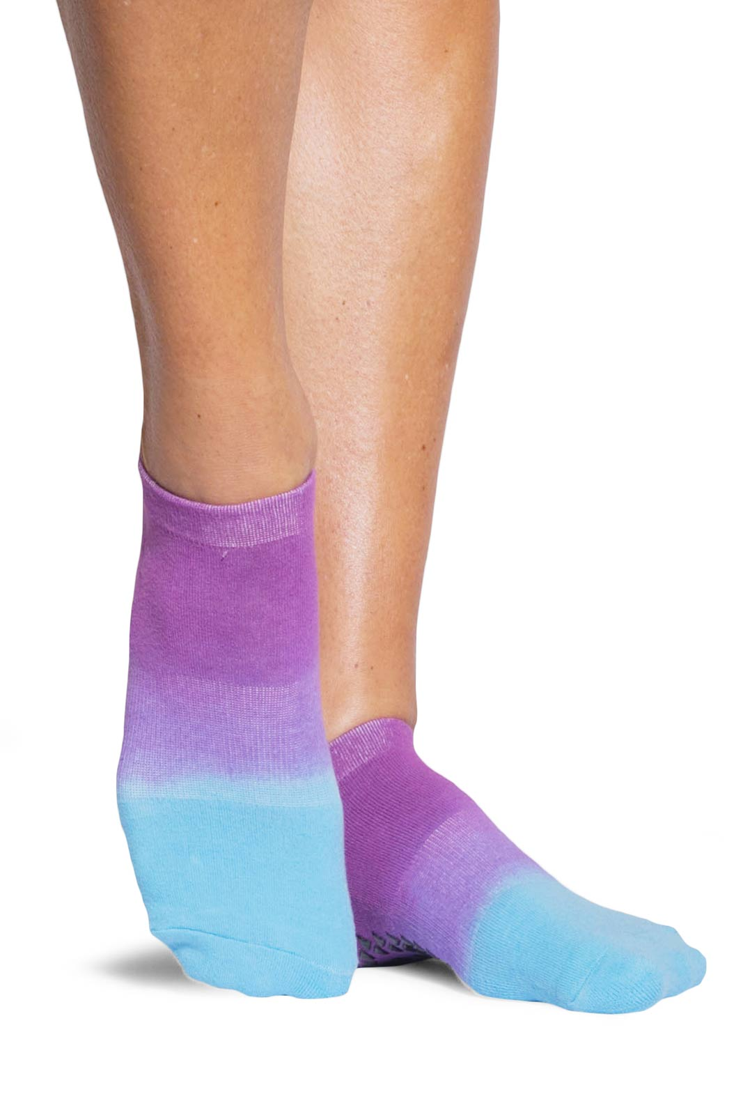 Pointe Studio Elle Grip Midweight - Pink/Blue image 2 - The Sports Edit