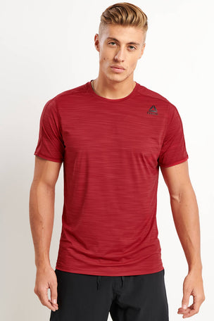 Reebok ACTIVCHILL Move Tee - Cranberry image 1 - The Sports Edit