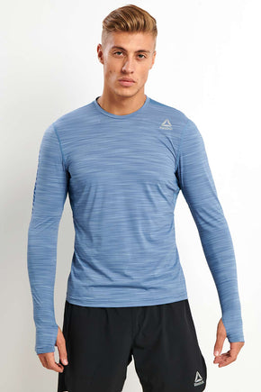 Reebok Running Activchill Long Sleeve Tee image 1 - The Sports Edit d770e7331de98
