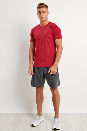 Reebok Epic Knit Waistband Short - Dark Grey image 4 - The Sports Edit