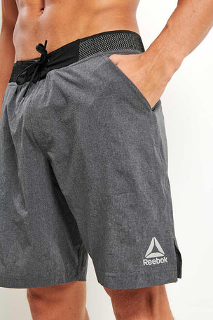 Reebok Epic Knit Waistband Short - Dark Grey image 3 - The Sports Edit
