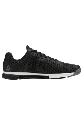 1f2a61bba0242 Reebok Speed TR Flexweave - Shark Black Chalk image 1 - The Sports Edit