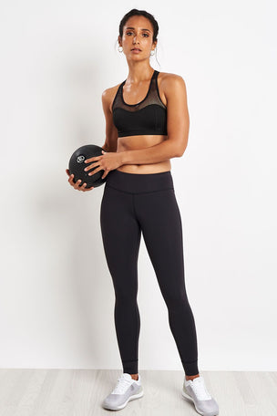 Reebok Lux Leggings - Black image 4 - The Sports Edit